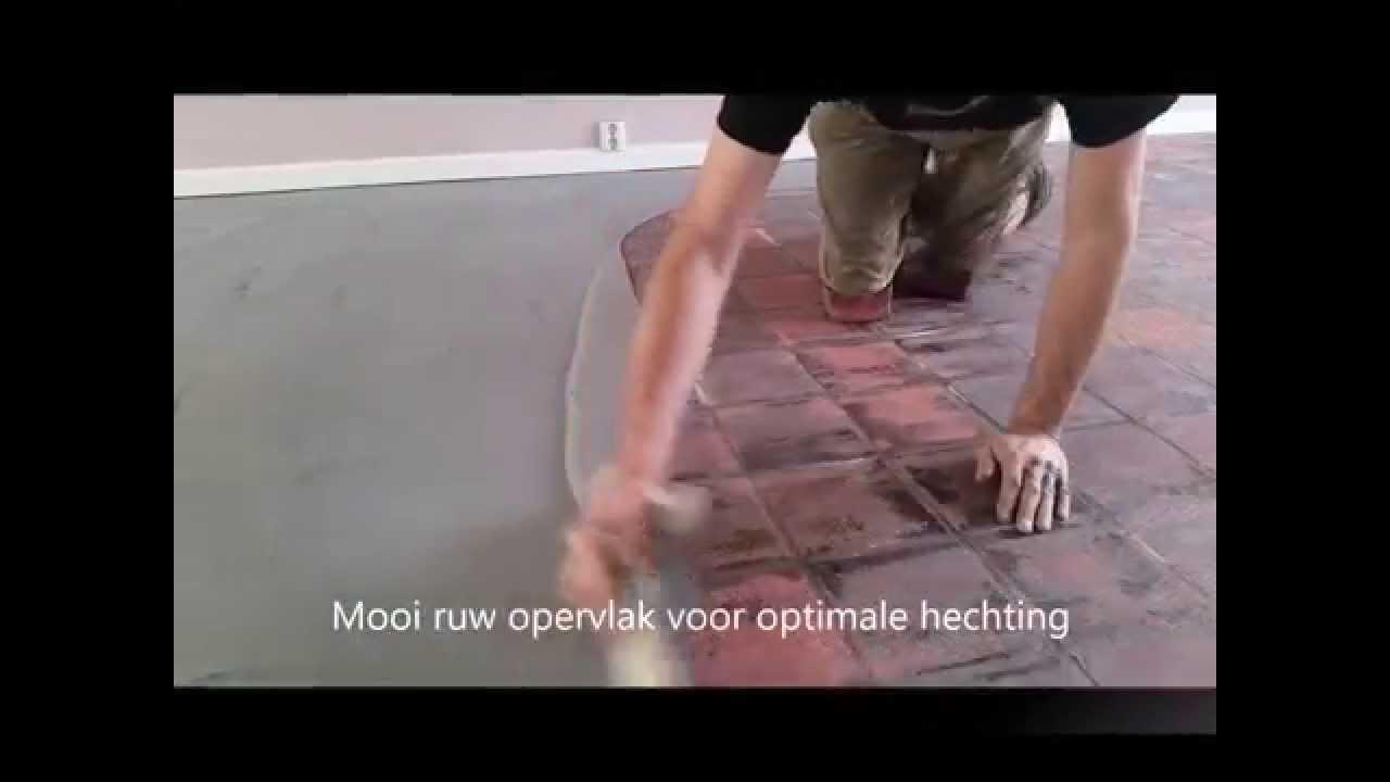 Kun je een vloer leggen over tegels plavuizen met vloerverwarming