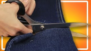 5 Best hacks with jeans. Tips and Tricks