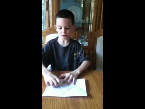 Ryan's paper airplane tutorial