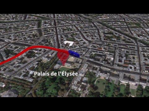 La parade des Bleus à Paris