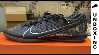 Nike Mercurial Vapor 13 Academy IC Under The Radar - Black/Metallic Cool Grey
