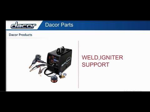 Dacor Appliance Parts - Dacor Cooktop Parts   Dacor Range Parts   Dacor Refrigerator Parts- PartsIPS