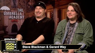 Netflix's The Umbrella Academy Executive Producers Steve Blackman & Gerard Way