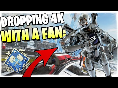 Dropping 4K Damage With A FAN! (Apex Legends PS4)