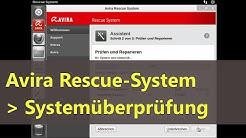 Systemüberprüfung mit Avira Rescue CD/USB-Stick