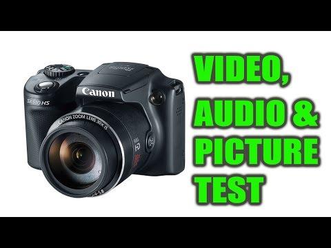 I test the Canon Powershot SX510 HS