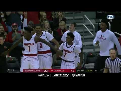 Southern Illinois vs Louisville College Basketball Condensed Game 2017