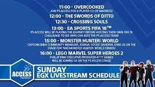 EGX 2017 Sunday - Monster Hunter: World, FIFA 18, GT Sport and more!