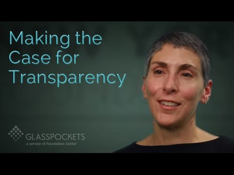 Glasspockets: Maria Mattola, New York Foundation