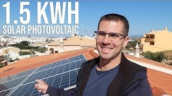 HOW MUCH ELECTRICITY Does a 1,5 KWh SOLAR PV PRODUCES ?
