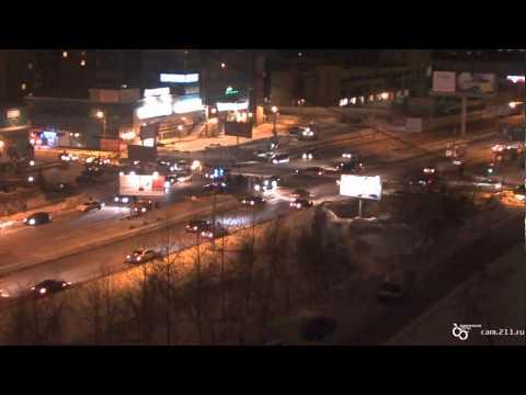 Авария на Перекрёстке улиц Ипподромская и Кропоткина