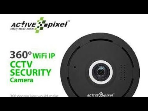 360 vr video camera by active pixel