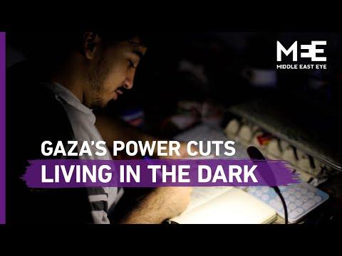 Gaza's power cuts: Living in the dark