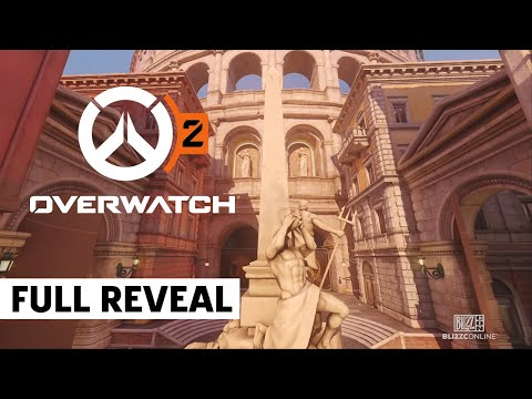 Overwatch 2 New Maps: New York City And Rome | BlizzCon 2021