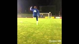 Eva Carneiro With Stunning free kick in training !