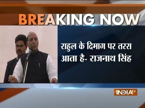 Rajnath Singh Mocks Rahul Gandhi's 'Vikas Pagal Ho Gaya Hai' Remark
