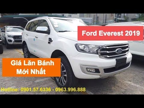 Ford Everest 2019 - Giá Lăn Bánh 05 Phiên Bản Mới Nhất