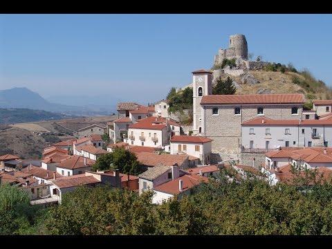 ROCCA SAN FELICE (Avellino-Irpinia-Italy) - il castello,il borgo medievale,la mefite,il paese -