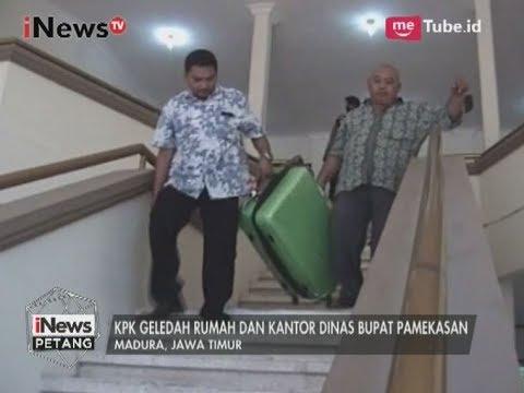 KPK Geledah Rumah & Kantor Bupati Pamekasan untuk Menindaklanjuti Kasus Korupsi - iNews Petang 05/08