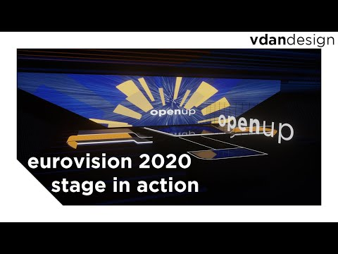 Eurovision 2020 - Stage in Action