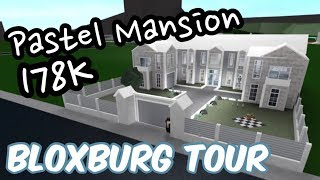 Pastel Mansion 178K | Tour | Roblox Bloxburg