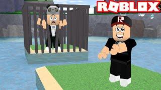 Zindanda Kaldım!! Lanetli Adalar - Panda ile Roblox Cursed Islands