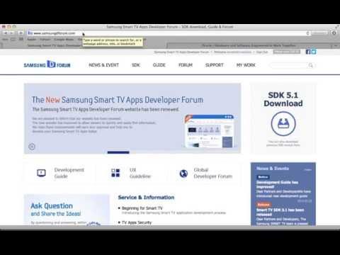 samsung smart tv apps store download