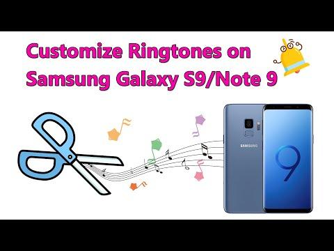 How To Make Samsung Galaxy Note 9 Ringtones