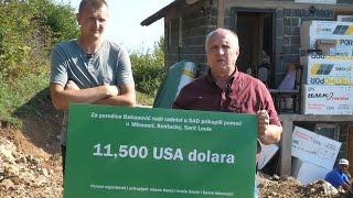 Babanovićima uručena donacija 11,500 dolara