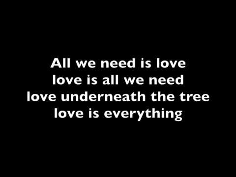 Ariana Grande - Love is everything (lyrics)