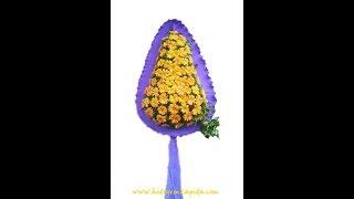 Gelin Duvağı Ayaklı Çiçek Düğün Çiçeği