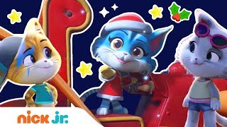 44 Cats Save Christmas Holiday Music w Glitter Lampo Milady Meatball Nick Jr