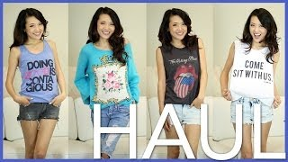 Summer Fashion HAUL + GIVEAWAY Thumbnail