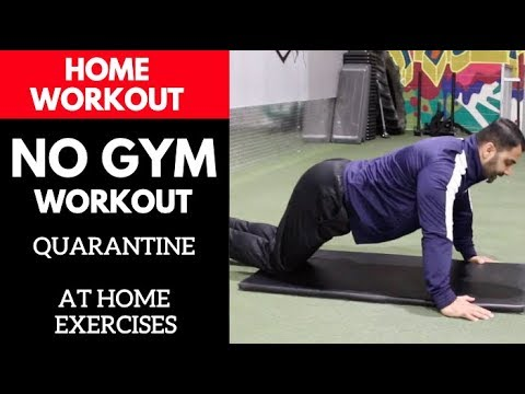 NO GYM, At Home Quarantine Workout! (Hindi / Punjabi)