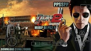 Cara Download Dan Install Game DON 2 The Game PPSSPP Android