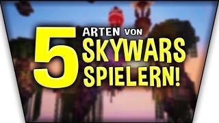 5 ARTEN VON SKYWARS SPIELERN!