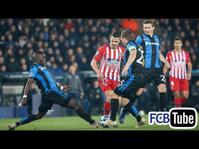 2018-2019 - Champions League - 06. Groep A Match 6 - Club Brugge - Atletico Madrid 0-0