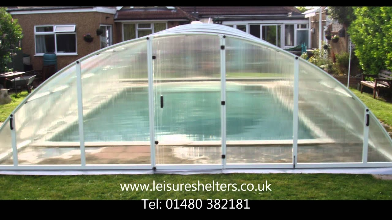 Klasik swimming pool enclosure from leisure shelters uk - Swimming pool screen enclosures cost ...