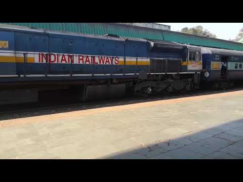 17416 Haripriya express at belgaum