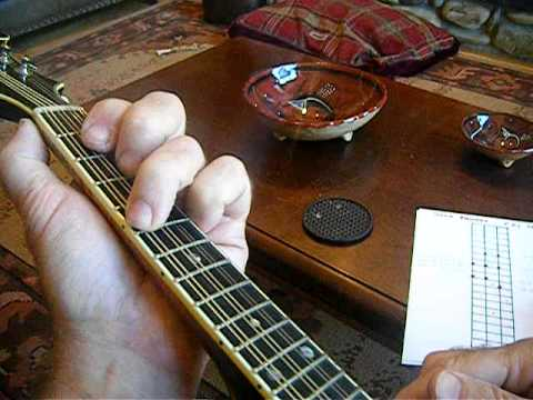 Mandolin solo pattern lesson