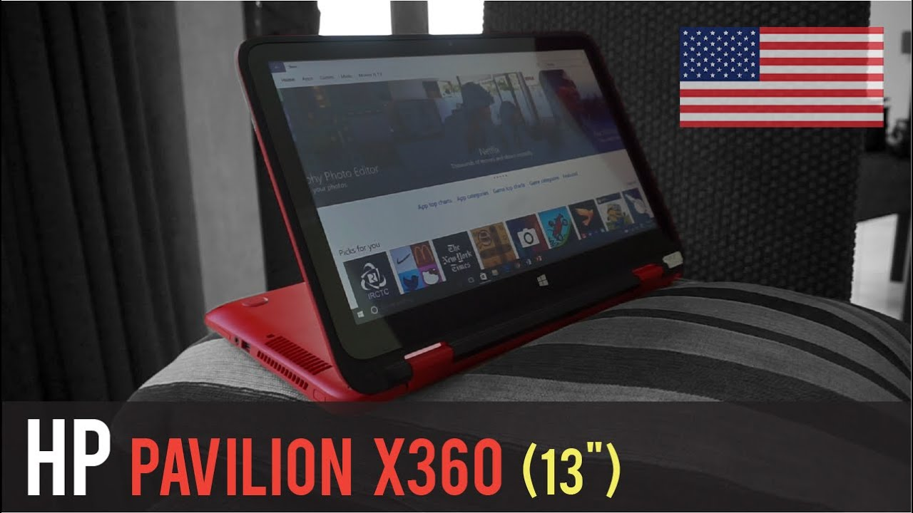 Hp pavilion x360 13 quot review english youtube