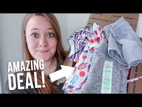 TONS OF KIDS CLOTHES.FOR CHEAP! I Bought Something Instagram Recommended to me 😬