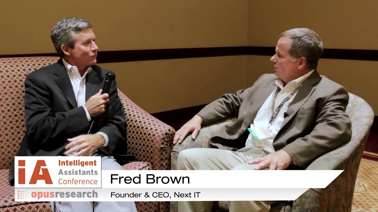 Fred Brown CEO Next IT