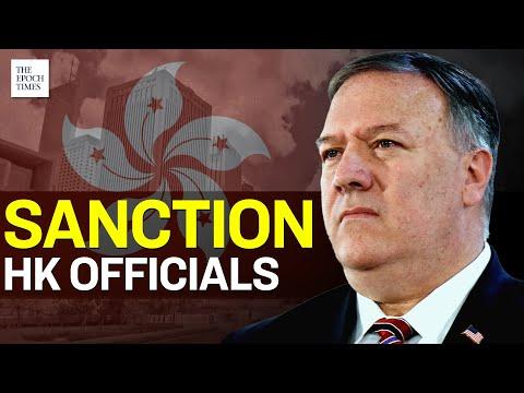 U.S. Sanctions Hong Kong Officials Over Hong Kong Crackdown   Epoch News
