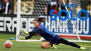 Hope Solo - Best Female Goalkeeper * HD