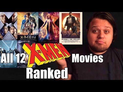 All 12 X-Men Movies Ranked Worst to Best (w/ Dark Phoenix)