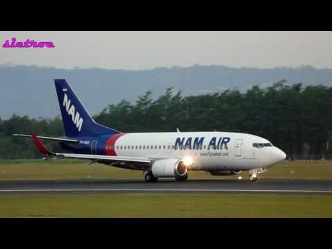 NAM AIR BOEING 737 500