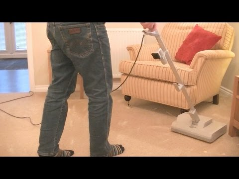 Sebo Duo Dry Carpet Cleaning System Demonstration