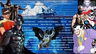 The Batman Iceberg Explained