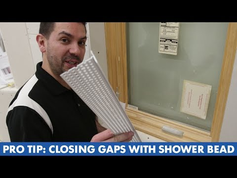 Pro Tip: Closing Gaps with Shower Bead - YouTube